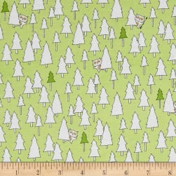 Ink & Arrow Camp S'more Trees Light Green