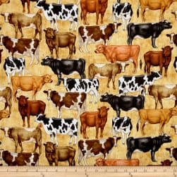 Bountiful Farm Animals Tan