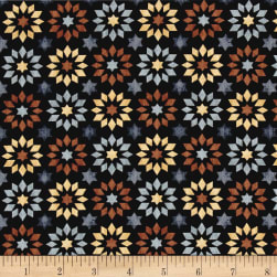 Bountiful Stars Black Fabric