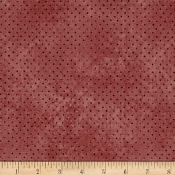 Santoro All For Love Dots Dark Rose Fabric