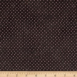 Santoro All For Love Dots Charcoal Fabric