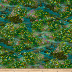 Artworks Digital Nature Angel Scenic Multi Fabric