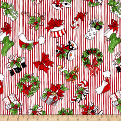 Loralie Designs Fairy Merry Christmas Christmas Crowd Red