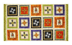 Maywood Studio Halloweenie Halloween Kaleidoscope 25'' Panel Multi Fabric