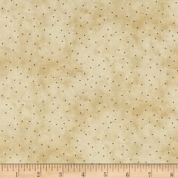 Maywood Studio Halloweenie Itty Bitty Dots Light Tan/Black