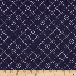 Maywood Studio Kimberbell Basics Lattice Navy