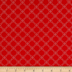 Maywood Studio Kimberbell Basics Lattice Red