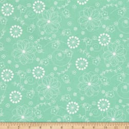 Maywood Studio Kimberbell Basics Doodles Teal Fabric