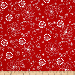 Maywood Studio Kimberbell Basics Doodles Red