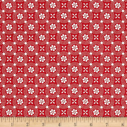 Maywood Studio Kimberbell Basics Dotted Circles Red