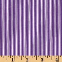 Maywood Studio Kimberbell Basics Little Stripe Violet Fabric