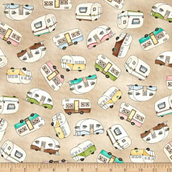 Maywood Studio Roam Sweet Home Trailer Toss Sand