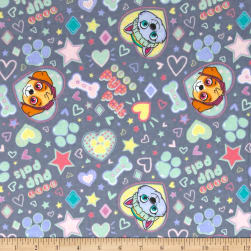 Nickelodeon Paw Patrol Pup Pals 4ever Flannel Grey