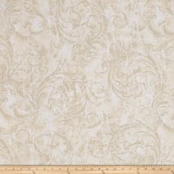 Kanvas Winter Story Vine Scroll Cream Fabric