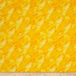 Kanvas Patio Splash Color Strokes Yellow Fabric