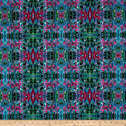 Kismet Liquid Lace Blue/Multi Fabric