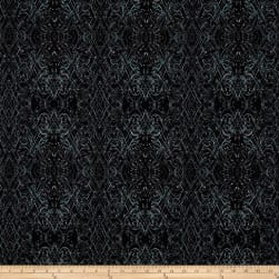 Kismet Flash Dance Charcoal Fabric