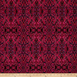 Kismet Flash Dance Fuchsia Fabric