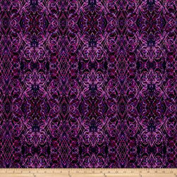 Kismet Flash Dance Purple Fabric