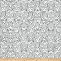 The Coloring Collection Damask Gray
