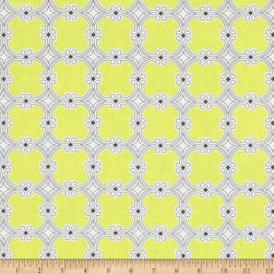 The Coloring Collection Tiles Yellow Fabric