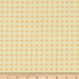 Do What You Love Harlequin Tile Yellow Fabric