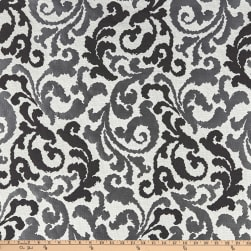Kelly Ripa Home Graceful Curves Jacquard Ebony Fabric