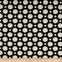 Kelly Ripa Home Social Circuit Jacquard Ebony Fabric