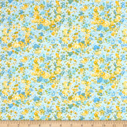 Flannel Alegra Blue Fabric