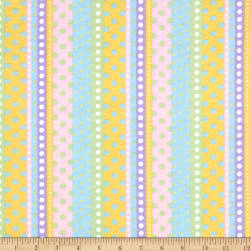 Flannel Dotted Stripe Multi Fabric