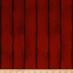Colors of Fall Wood Red Fabric