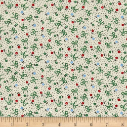 Greetings Flowers & Bows Cream/Multi Fabric