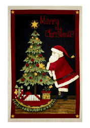 "Santa's Big Night 29"" Panel Multi"