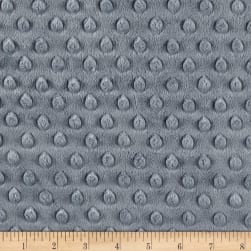 Michael Miller Minky Solid Dot Grey