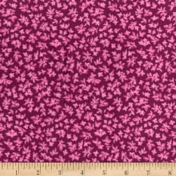 Michael Miller Minky Indian Summer Jasmine Garnet Fabric