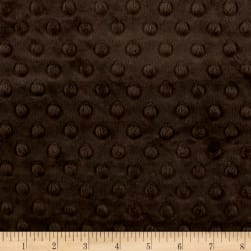 Michael Miller Minky Solid Dot Charcoal Fabric