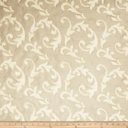 Fabricut Acquire Scroll Linen Blend Champagne Fabric