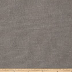 French General Albi Linen Coal Fabric