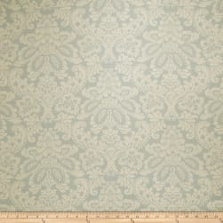 Fabricut Aloe Damask Robins Egg Fabric
