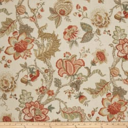 Fabricut And Still Coral Fabric