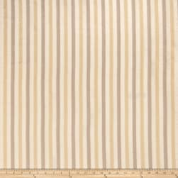 Fabricut Anjou Stripe Faux Silk Bisque Fabric