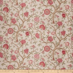 French General Antoinette Linen Blend Vintage Rose Fabric