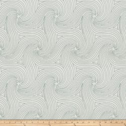 Fabricut Anytime Swirl Teal Fabric