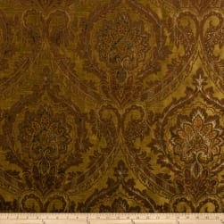 Fabricut Aura Faux Silk Bronze Fabric
