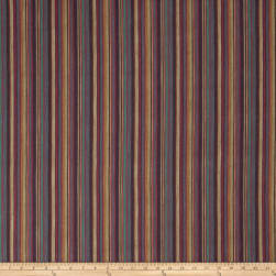 Fabricut Bell Book Stripe Fiesta Fabric