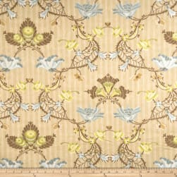 Ritz Paris Belle Epoque Aquacitrine Fabric