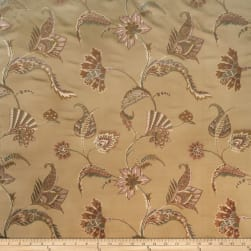 Collier Campbell Blair Jacquard Sand Fabric