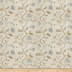 Fabricut Bledel Floral Silk Spa Fabric