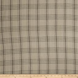 Fabricut Brice Check Linen Blend Taupe Fabric