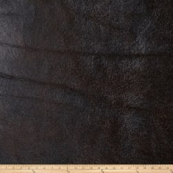 Fabricut Bronze Faux Leather Chestnut Fabric